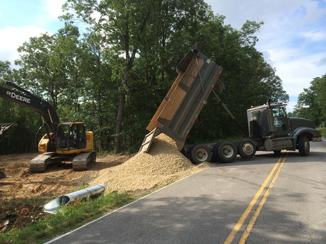 Road Clearing and Construction